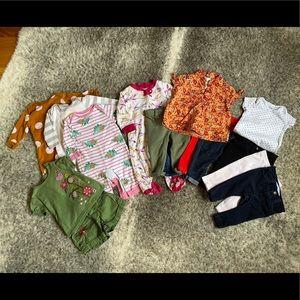 Baby Girl Lot - Sz. 3-6M - 15 Items